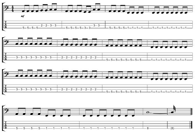 Chorus Outro
